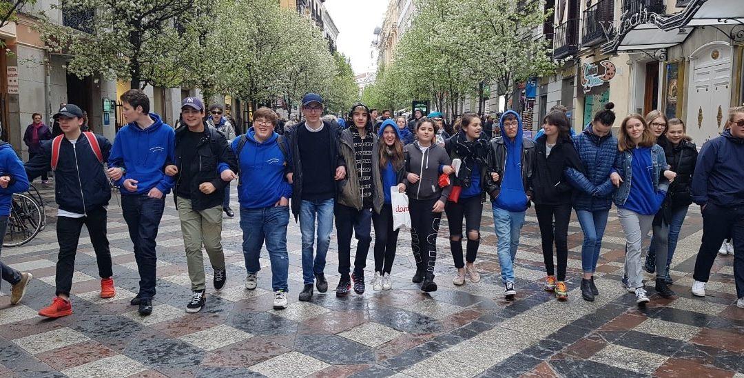 Voyage scolaire à Madrid pour tous les élèves du CPP
