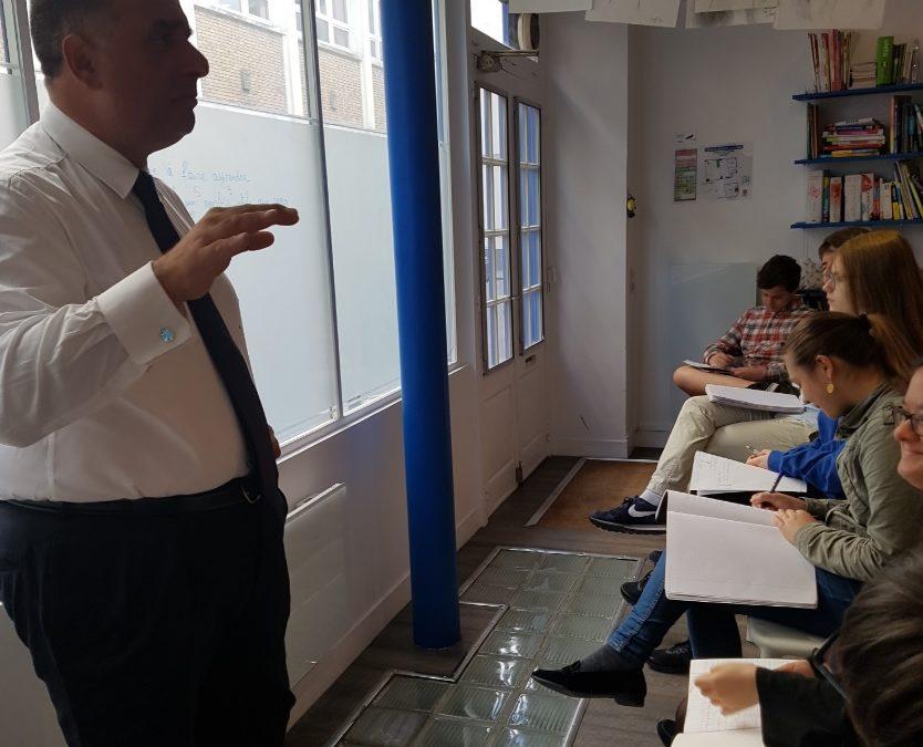 Marwan Lahoud, un exemple de la méritocratie pour les élèves du CPP