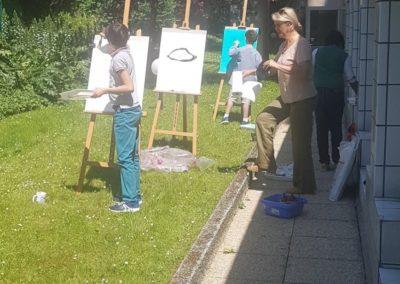 Atelier d'art au CPP