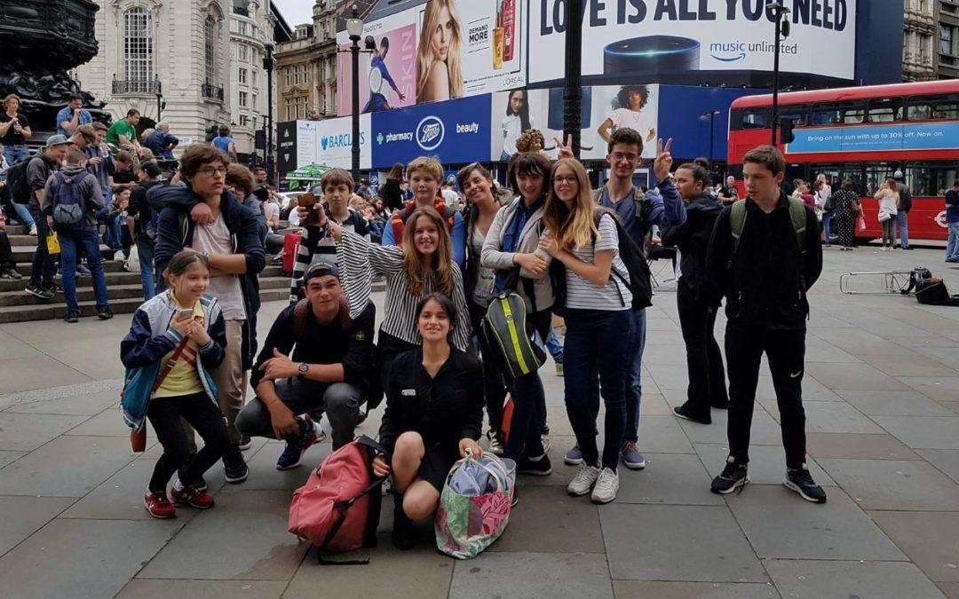 Premier voyage scolaire des élèves du CPP à Londres